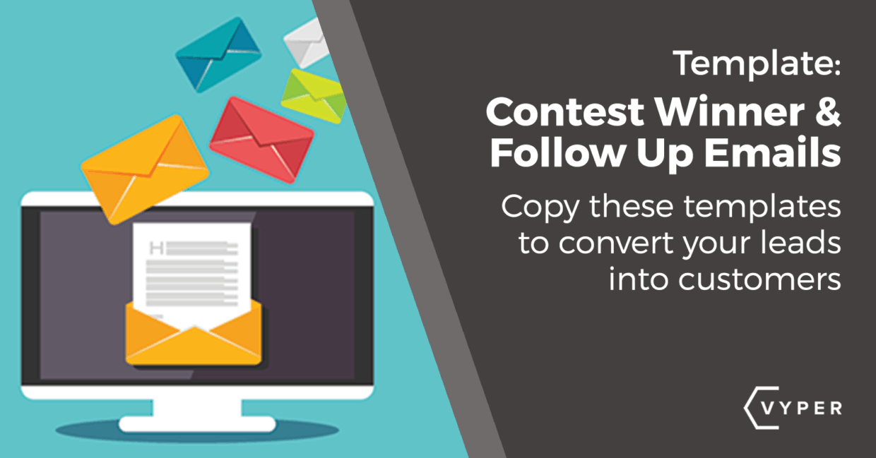 Use This Contest Winner Email & Follow-up to Convert Your Leads