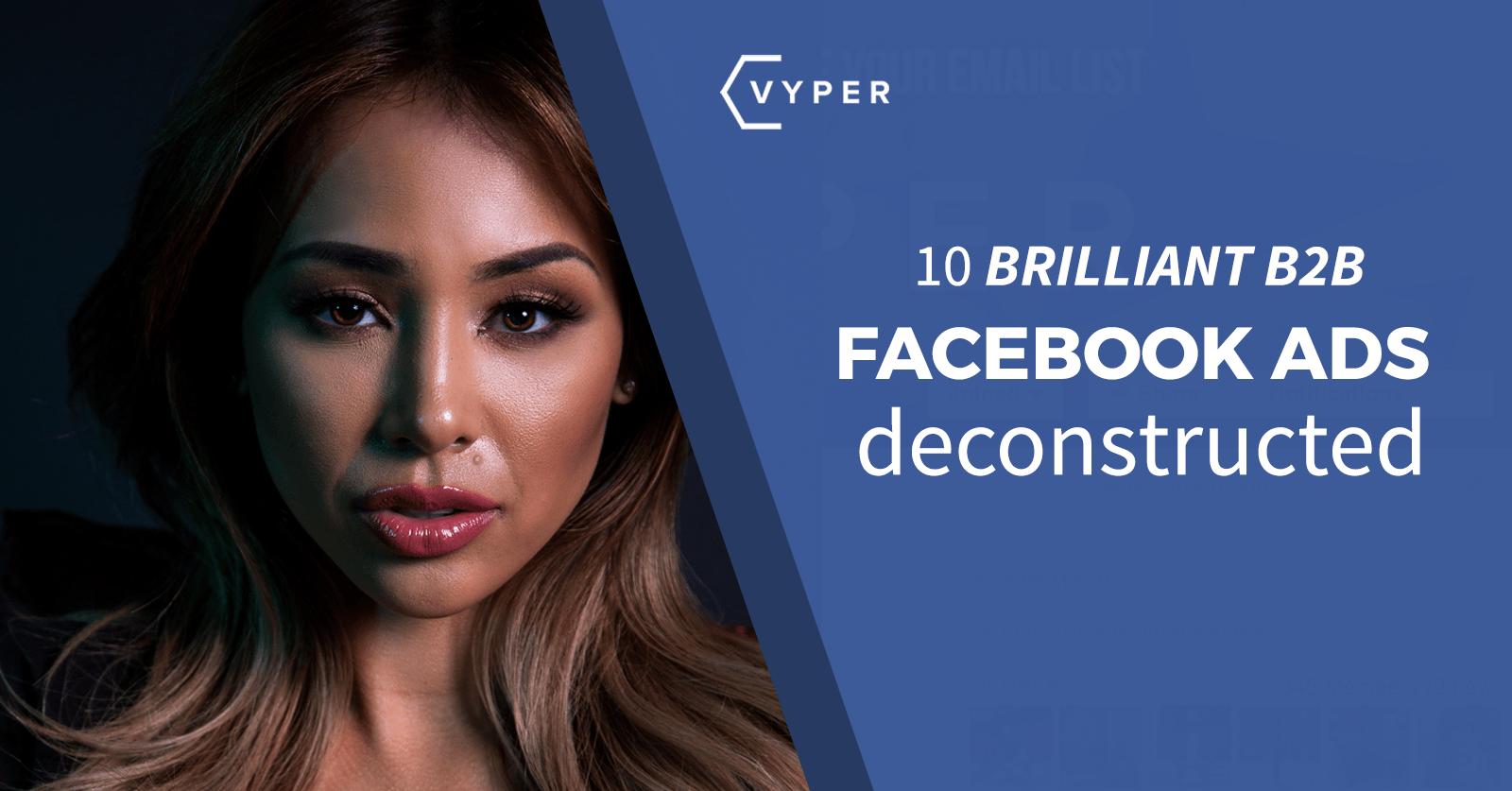 10 Brilliant B2B FB Ads