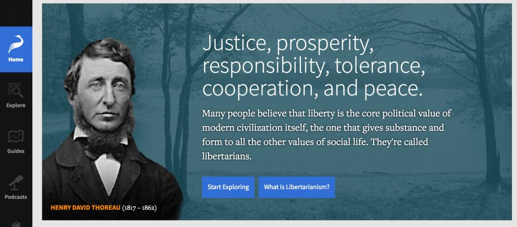 viral giveaway libertarianism