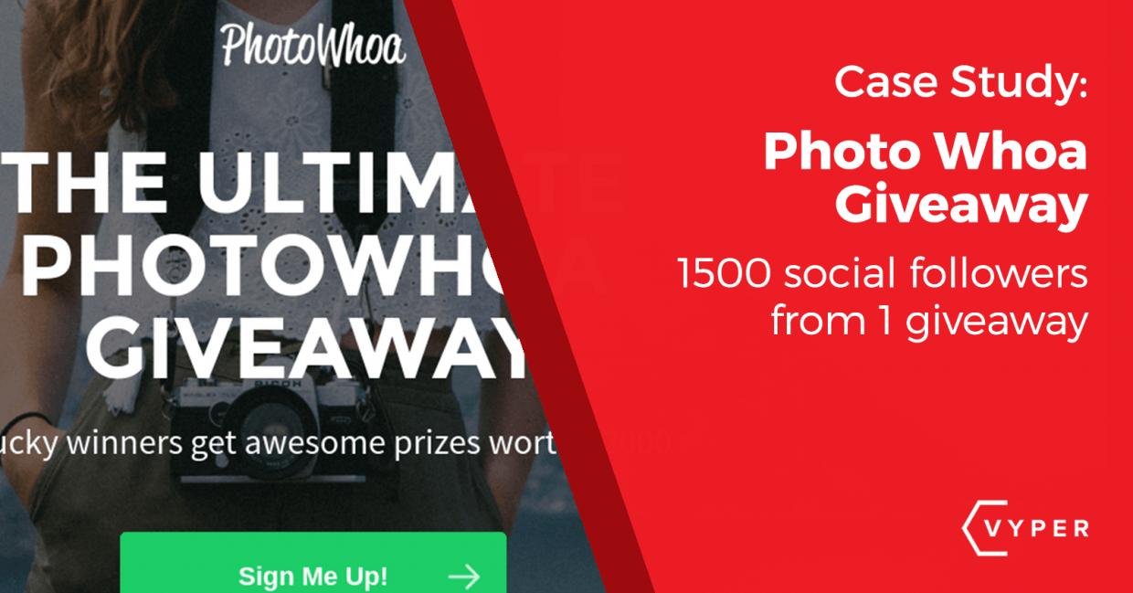 Case Study: PhotoWhoa Adds 1,802 Emails From 1 Giveaway Promotion Strategy