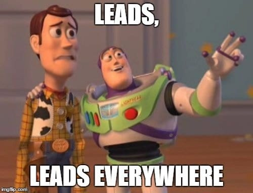 vyper lead generation via leaderboard contest