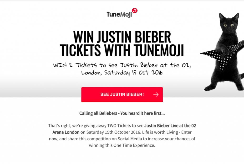 Justin Bieber Contest Case Study