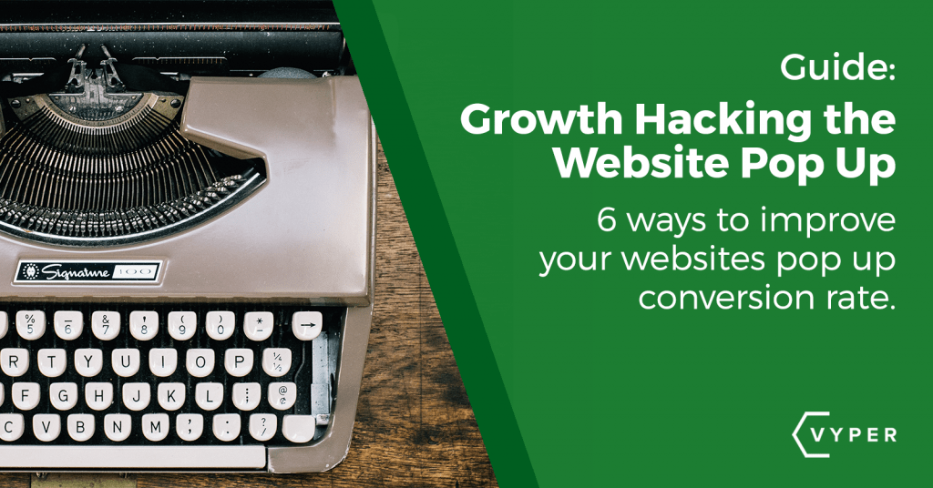 how to improve your website pop up signups