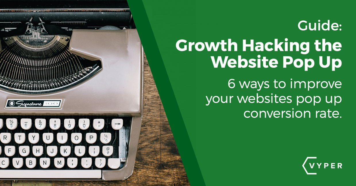 6 Ways to Improve Your Website Popup Conversion Rate
