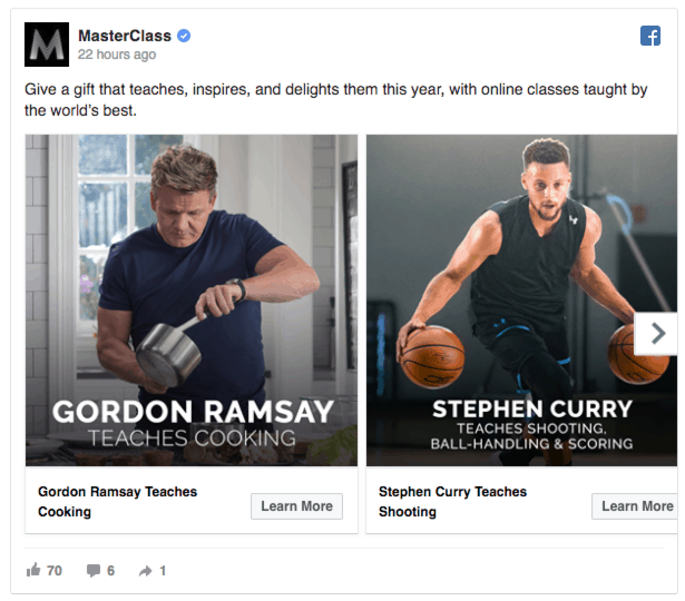 masterclass facebook ads