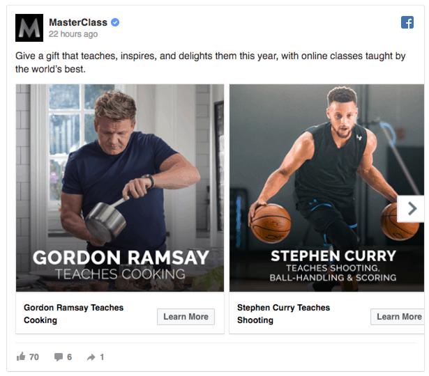 masterclass facebook ads