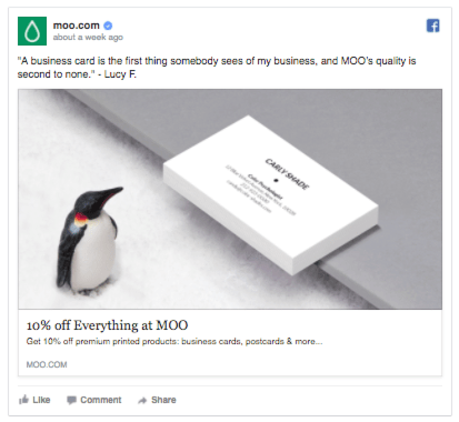 moo facebook ads