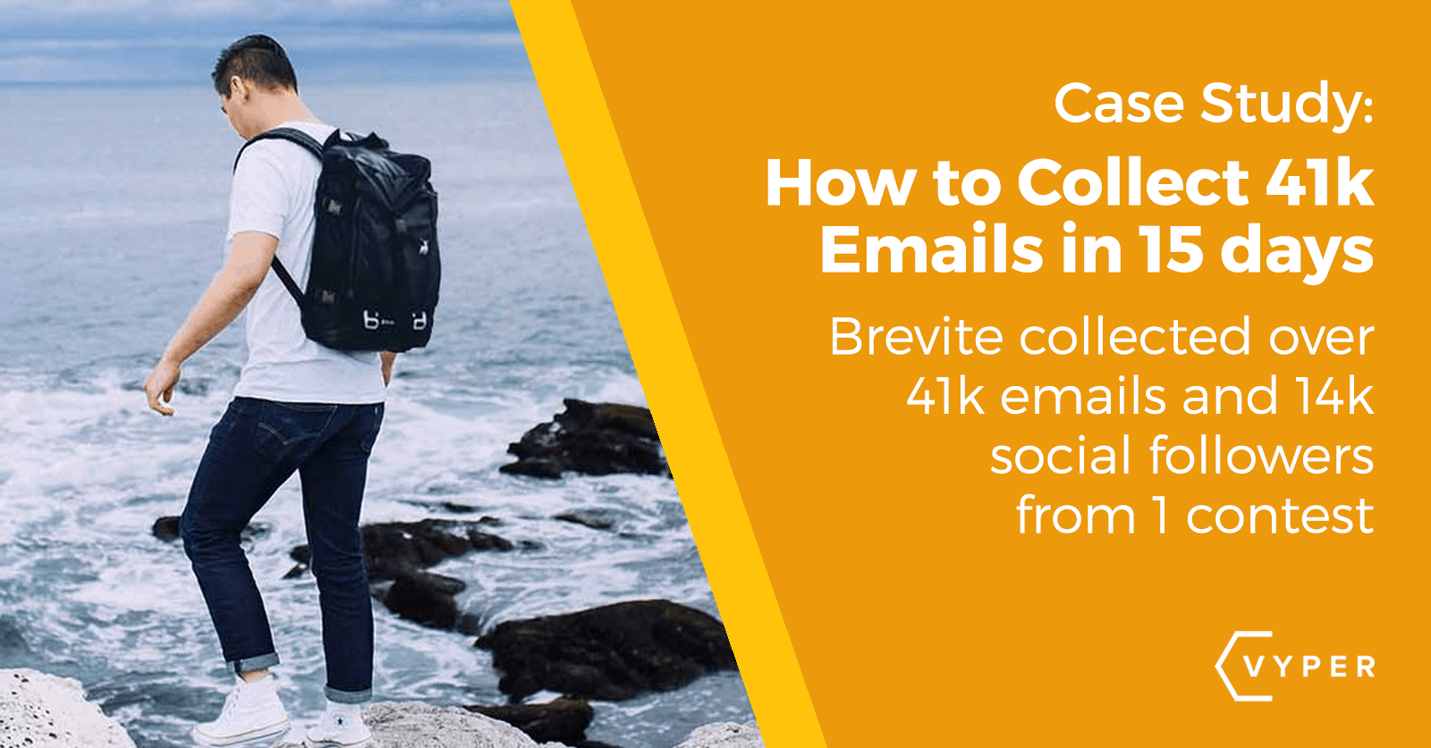 contest case study 41k emails + 14k followers