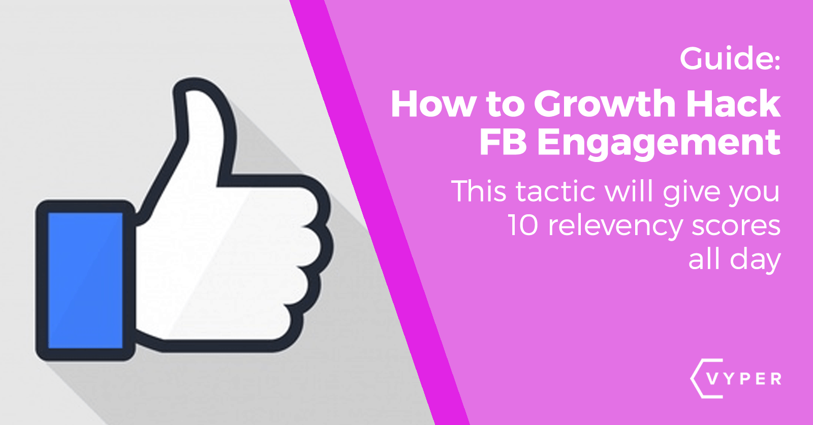 How To Improve Your Facebook Engagement Rate