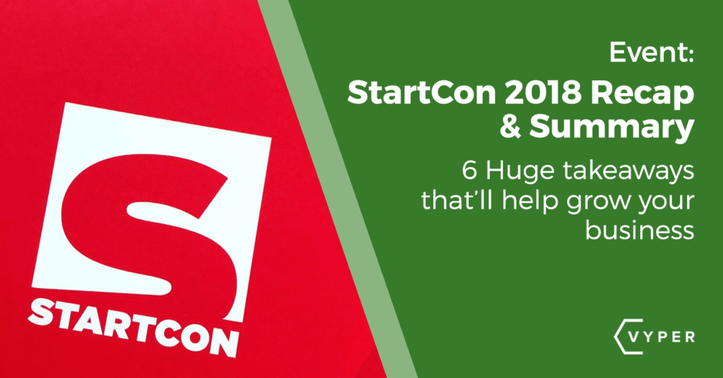 startcon 2018 recap summary