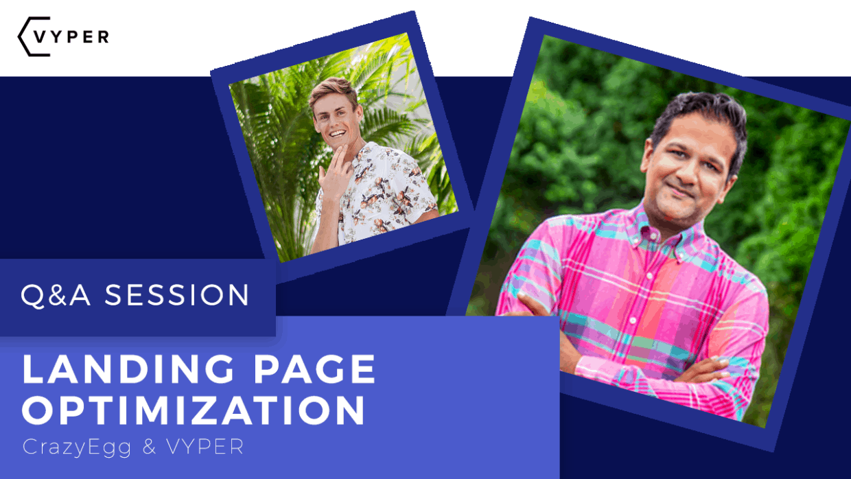 6+ Landing Page Optimization Tips From Suneet At CrazyEgg