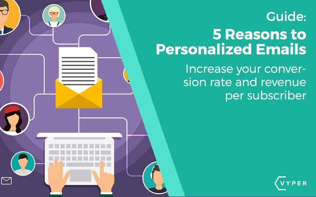 Personalize emails-revenue