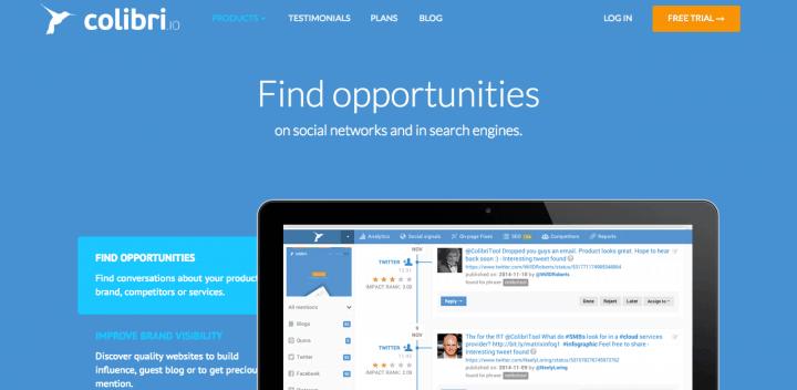 growth hacking tool - Colibri.io