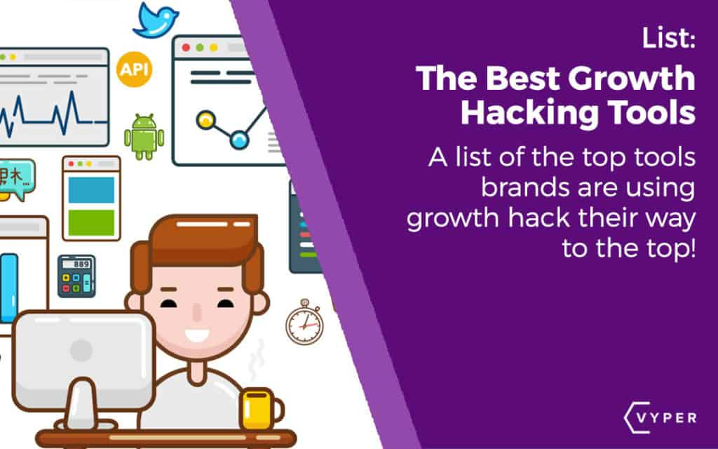 The top growth hacking tools that brands are using to 10x their results and get to the top. We asked some of the world's top marketers the tools they use!