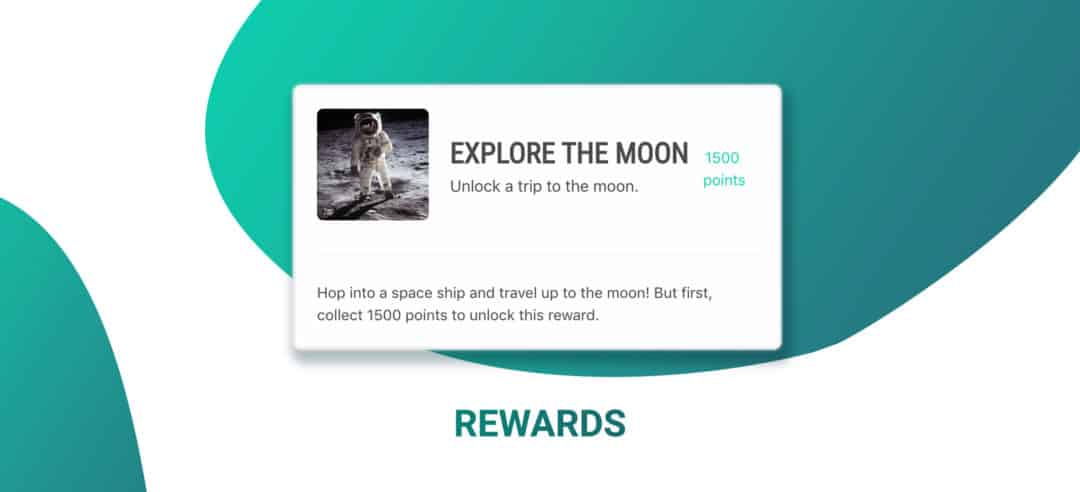 Picture showing how a reward looks like inside VYPER