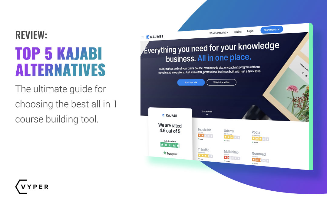 5 Best Kajabi Alternatives of 2021